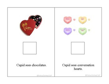 "Valentine Interactive Book - ""What Does Cupid See on Valentine's Day?"""