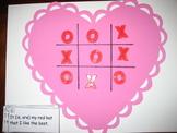 Valentine Irregular Verbs Tic Tac Toe