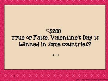 Valentine Jeopardy