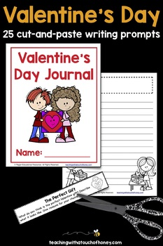 Writing Prompts For Valentine's Day: 25 Cut-And-Paste Writing Prompts