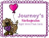 Valentine's Journey's Kindergarten Sight Word Cards