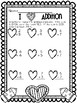 Valentine K-2 Math Printables - FREEBIE