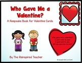 Valentine Keepsake Book - Who Gave Me a Valentine?