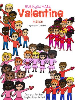 Valentine Kid Clipart