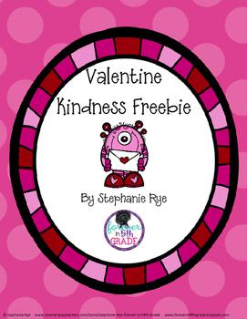 Valentine Kindness Freebie