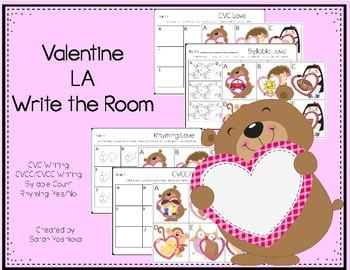 Valentine LA Write the Room
