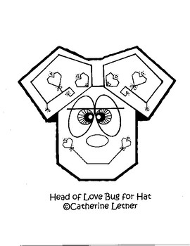 "Valentine ""LOVE BUG"" Dragonfly Hat"