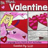 Valentine Language Arts, Math and Art Activities