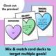Valentine Language Zap Card Game