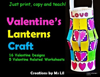 Valentines Day Craft  ::  Valentine Activities