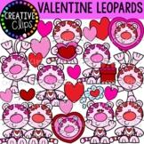 Valentine Leopard Clipart {Valentine Clipart}