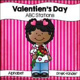 Valentine Letter Discrimination Stations