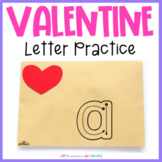 Valentine Letter Formation Cards | Sand Tray Letters | Print