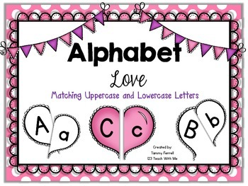 Valentine Letter Match-Up