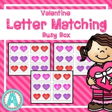 Valentine Letter Matching Busy Box