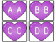 Valentine Letter Matching Heart Puzzles