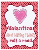 Valentine Letter Naming Fluency Roll and Read SMARTboard