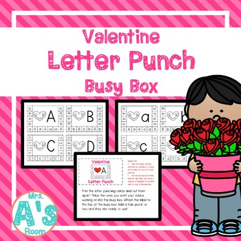 Valentine Letter Punch Busy Box