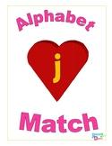 Valentine Letter Sound Match