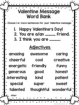 Valentine letter writing activity by ckim creations tpt valentine letter writing activity spiritdancerdesigns Gallery