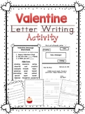 Valentine Letter Writing Activity
