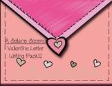 Valentine Letter Writing Pack