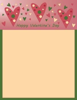 Valentine Letterhead-No Lines