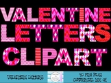 Valentine Letters Clipart
