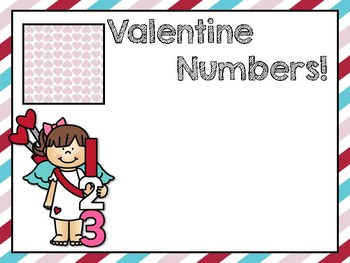 Valentine Letters/Numbers