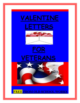 Valentine Letters for Veterans