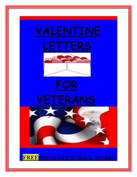 Valentine Letters for Veterans