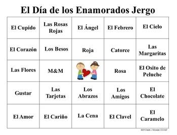 Valentine Lingo - Spanish Edition