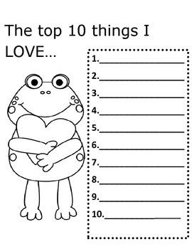 Valentine List