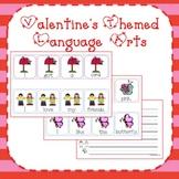 Valentine Literacy Activites