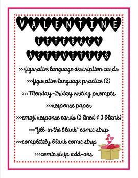 Valentine Literacy Activities