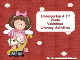 Valentine Literacy Activities for K & 1