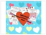 Valentine Literacy Center Pack