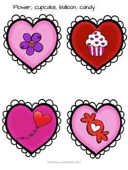 Valentine's Day Literacy Centers- Kindergarten