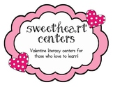 Valentine Literacy Centers (Sweetheart Centers)