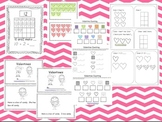 Valentine Literacy & Math Interactive Books