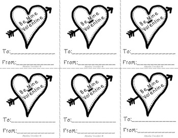 Valentine Literacy, Math and More Pack