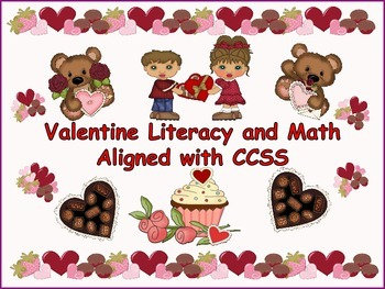 ESL Resources: Valentine Literacy and Math-ELL Newcomers Too!