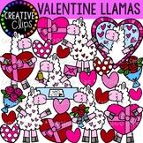 Valentine Llamas {Creative Clips Clipart}