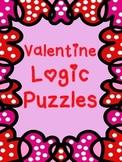 Valentine Logic Puzzles ~ 5 puzzles ~ No Prep