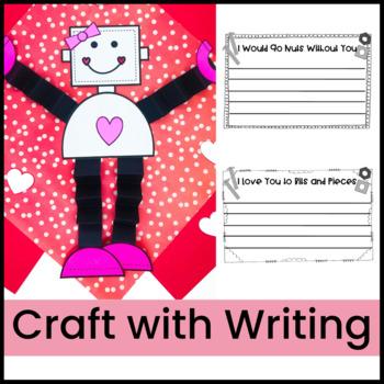 Valentine Love Bot Craft