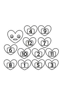 Valentine Love Bug Math and Literacy