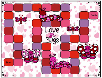 Valentine Love Bugs ~ Cardinality, Addition/Subtraction to 20, Multiplication