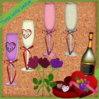 Valentine Love Elements