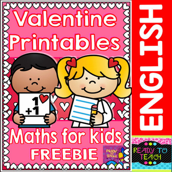 Valentine Love Free Funny Math Sheets for Pre-K/K