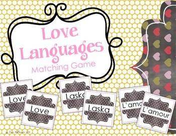 Valentine's Day Matching and Memory